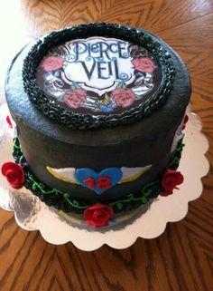 Pierce the Veil birthday cake.