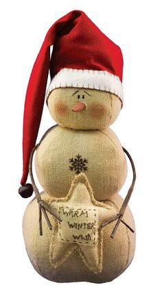 Features: -Material: Polyfill, burlap, felt, wire, florist tape, metal. Product Type: -Decorative Accents. Holiday Theme: -Yes. Seasonal Theme: -Yes. Holiday: -Christmas. Season: -Winter. Dimens