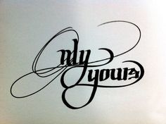 Lettering Draw by Ritchie Ruiz, via Behance