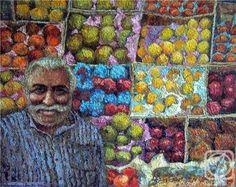 Fruits merchant. By Irina Kabanova