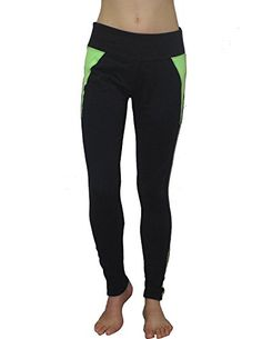 Balance Collection by Marika Womens Sports Skinny Leggings  Yoga Pants M Black ** Read more reviews of the product by visiting the link on the image.