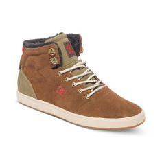 DC Herren CRISIS HIGH WNT M SHOE Waterproof Shoes  CHOCOLATE/GREEN  ADYS100116  1