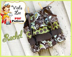 Rachel Ruffle Top Pattern - via @Craftsy