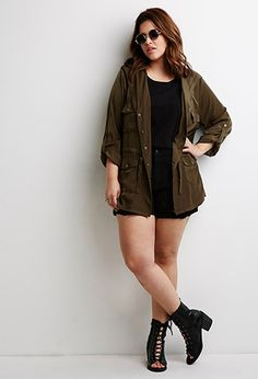 Cool jacket, cool look- would totally wear with different shoes