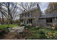 Connecticut stone farm house