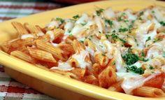 Gratin de pâtes à la tomate pour 4 personnes - Recettes Elle à Table - Elle à Table