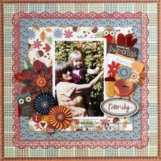 Layout created using items from the Acorn Hollow Collection.