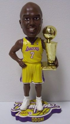 Lamar Odom Los Angeles Lakers Bobbleheads