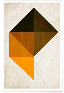 Trapez No.9 - Kubistika - Premium Poster
