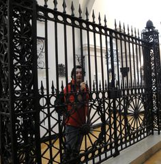 Day 8: V Museum, So this is what it feels like to be behind bars.