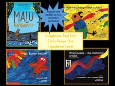 Indigenous Text Unit Early Stage One Foundation Level. Teaching ideas and…