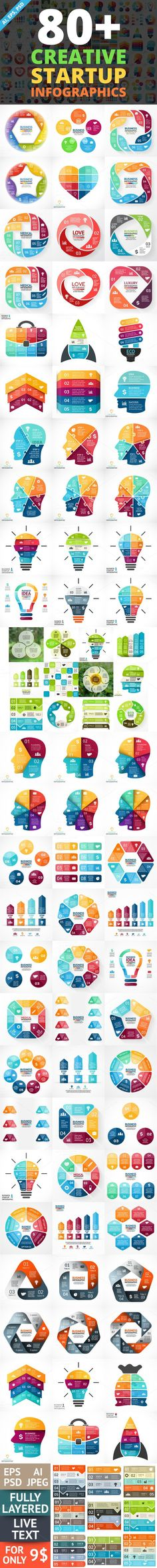 Creative Infographics. PSD Included!. Business Infographic. $15.00