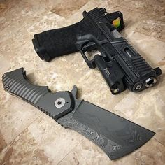 #agencyarms #agent #glock with Surefire light and Trijicon RMR