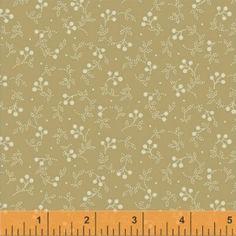 Indigo+32728-2+-+marque:+Windham-+couleur:+blanc+au+beige+-+thème:+Fleurs+et+feuillages-+description:+Tissu+100%+coton+en+110cm+de+largeur+(repères+en+inchs+-+1+inch+=+2,54cm)