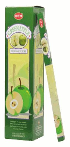 Green Apple Boxed Incense Sticks