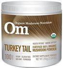 Om Organic Mushroom Nutrition Turkey Tail 7.14 Ounce