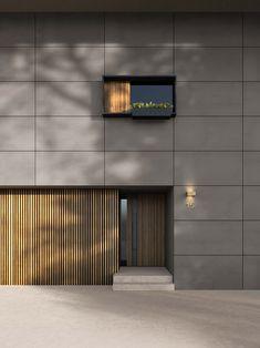 Fumo Chalk Cladding Design, House Cladding, Exterior Cladding, House Siding, Wall Cladding, Facade Design, Facade House, Building Facade, Building Design