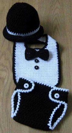 bebek kilot önlük ve şapkası