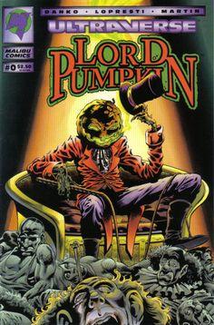 Cover for Lord Pumpkin (Malibu, 1994 series) #0