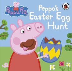 Peppa Pig: Peppa's Easter Egg Hunt. A fab Easter book for Little Miss. 20/04/14.