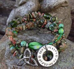 https://www.etsy.com/listing/123261101/anamchara-soul-sister-irish-celtic-three https://www.etsy.com  This has been a very popular bracelet in my shop, over the years.  I even shipped a few to Ireland a couple of years ago