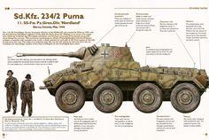 SD.KFZ.2342 Tamiya Model Kits, Tamiya Models, Army Vehicles, Armored Vehicles, Armored Car, Us Military Branches, Camouflage Colors, Ww2 Tanks, Military Equipment