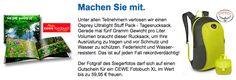 Gewinnen Sie im Oktober einen Tagesrucksack Ultralight Stuff Pack - Ein Fliegengewicht für viele Gelgegenheiten - http://www.nabu-fotoclub.de/gewinnspiel