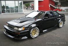 Track ready AE86 Levin