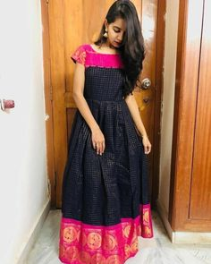Dress Indian Style, Indian Fashion Dresses, Indian Designer Outfits, Indian Gowns Dresses, Indian Outfits, Pakistani Outfits, Dress Neck Designs, Stylish Dress Designs, Fancy Blouse Designs