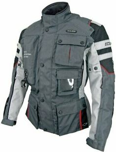 Hit-Air Infinite Lightning Air Bag Jacket Dark Gray L Size West Coast Choppers, Jesse James, Steve Mcqueen, Mens Insulated Jackets, Motorcycle Jacket, Military Jacket, Rockabilly, Groom Wear, Riding Gear