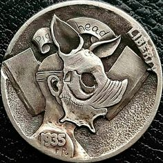 The original Hobo Nickel Coin. Artist Eugene Repnikov. Hobo Nickel Coins for sale Coin Design, Hobo Nickel, Coin Art, Loch Ness Monster, Coins For Sale, Art Carved, Design Elements, Art Pieces, Artist