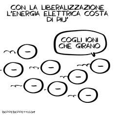 Beppe Beppetti - Liberalizzazione
