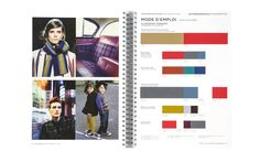Peclers Paris: Cahier de tendance COLORS TREND BOOK FALL WINTER 15-16