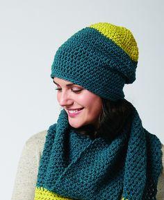 Ravelry: Color Burst Beanie pattern by Bernat Design Studio