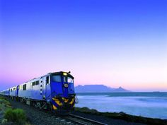 The Blue Train has served kings and presidents, and now will carry our intrepid bloggers from Pretoria to Kimberley. It's a moving five-star hotel! #visitsouthafrica