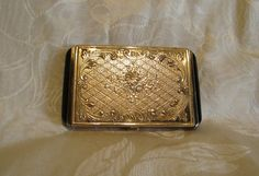 1930's Powder Compact Evans Compact Vintage by PowerOfOneDesigns, $79.99
