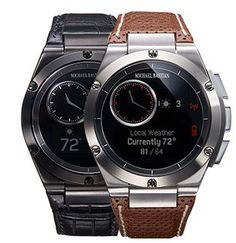 MB Chronowing a smartwach unveiled mutually by HP and designer Michael Bastian.