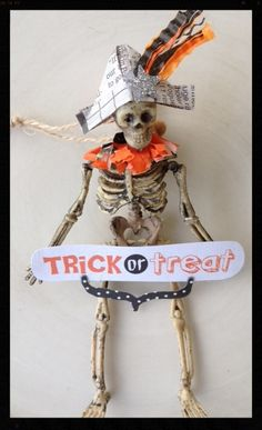 skeleton hanging decoration | Flickr - Photo Sharing!