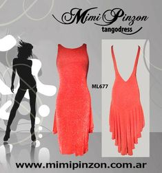 Tango Dress Salón Style ML677