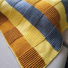 Crochet Quilt, Afghan Crochet Patterns, Baby Knitting Patterns, Knitted Baby Blankets, Baby Blanket Crochet, Chevron Baby Blankets, Mode Crochet, Diy Crafts Crochet, Patchwork Blanket