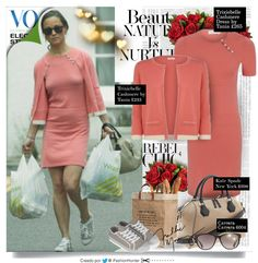 "► GET THE LOOK OF #PippaMiddleton | Jun 24, 2013  ● DRESS: Cashmere by Tania ""Trixiebell"" (Coral) £265.00 ● CARDIGAN: Cashmere by Tania ""Indi"" Cardigan - Coral £235.00 ● SHOES: Plimsoll Traditional Canvas £35 ● BAG: Kate Spade New York ""Catherine Street Pippa"" $398 ● SUNGLASSES: Carrera 6000/L in transparent blue $111.95 ● EARRINGS: Austique AMETHYST £135.00"