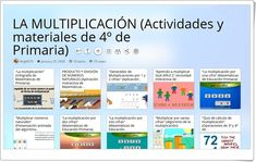 Maths Area, Teaching Resources, Activities