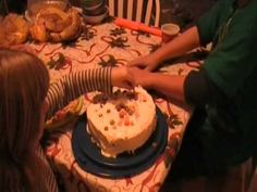 Birthday Thanksgiving Cake