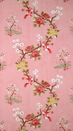 Scalamandre Floreale chinoiserie wallpaper LOVE Scalamandre!!! Gorgeous wallpapers.