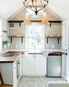 Tag who you'd want to build a tiny home with in 2017!   216 Sq Ft Tiny Home built by @sanctuarytinyhomes in Orlando, Florida