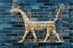 2575 BP - Detail of the Ishtar Gate - Dragon of Marduk