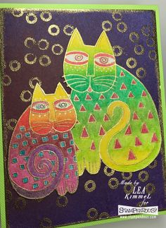 Happy Friday! Are you ready to get your craft on for the weekend? If you are, then have you checked out the new line of Laurel Burch  sta...