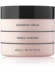 Cleansing Cream: For Dry skin types.   This cool classic removes even the most stubborn makeup while leaving skin clean and comfortable. The rich, oil-based formula won't clog pores. Use with or without water.