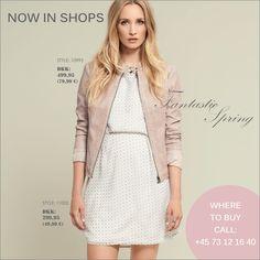 soyaconcept - dress - jacket - leather jacket Face Book, Jacket Dress, Fashion News, Leather Jacket, Jackets, Stuff To Buy, Shopping, Dresses, Style