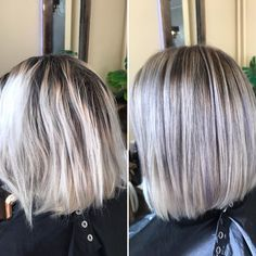 "PikkuMakkonen on Instagram: ""#beforeandafter #haircolor #hair #blond #hairsalon #hairstyling #hairdressersoffinland #hairdressersofinstagram #goldwell #topchic…"" Haircolor, Blond, Dreadlocks, Chic, Hair Styles, Beauty, Instagram, Hair Color, Shabby Chic"